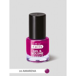MY NAILS Gel & volume effect 20 AMARENA