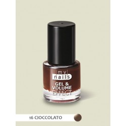MY NAILS Gel & volume effect 16 CIOCCOLATO